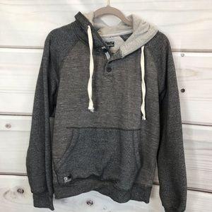 Distortion Grey Hoodie 4 for $20 Sale